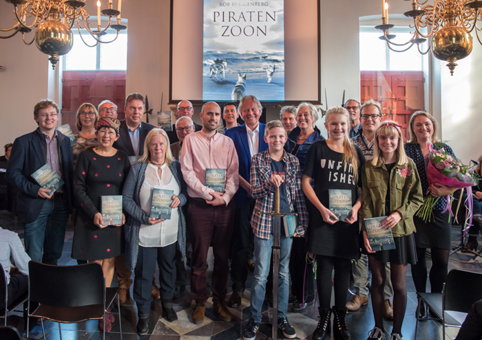 Presentatie Piratenzoon in het Belfort in Sluis
